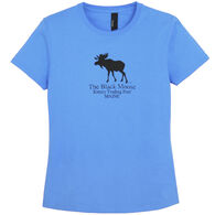 Original Design Girls' Kittery Trading Post Black Moose Short-Sleeve T-Shirt
