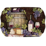Keller Charles Wine Barrel Tea Tray