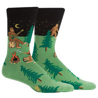 Sock It To Me Men's Sasquatch Camp Out Crew Sock