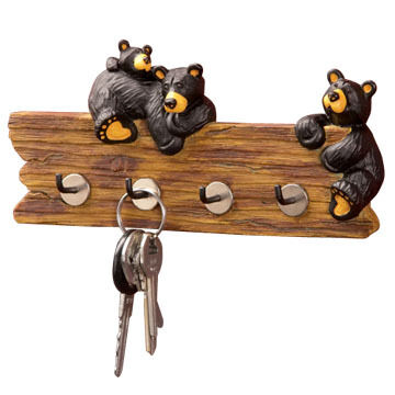 Big Sky Carvers Bear Key Holder