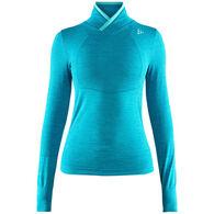 Craft Sportswear Women's Fuseknit Comfort Wrap Baselayer Long-Sleeve Top