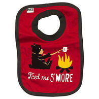 Lazy One Infant Boys' Feed Me S'More Bib
