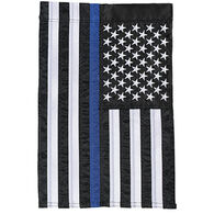 Carson Home Accents Flagtrends Thin Blue Line Garden Flag