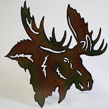Slifka Sales Co Metal Moose Wall Art