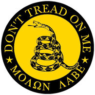 Sticker Cabana Don't Tread On Me Sticker