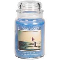 Village Candle Large Glass Jar Candle - Summer Breeze