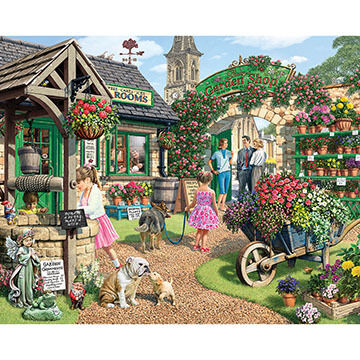 White Mountain Jigsaw Puzzle - The Garden Shop