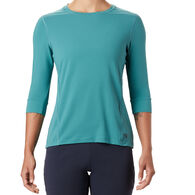 Mountain Hardwear Women's Crater Lake Crew 3/4-Sleeve T-Shirt