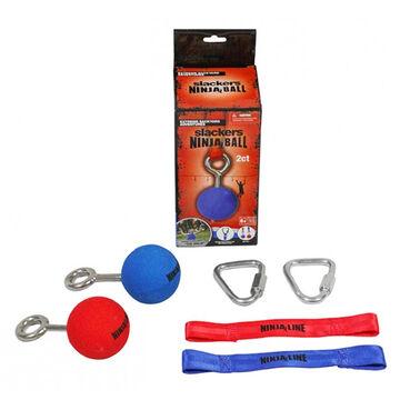 Slackers Ninjaline Ninja 2-1/2 Ball Obstacle & Hardware Set