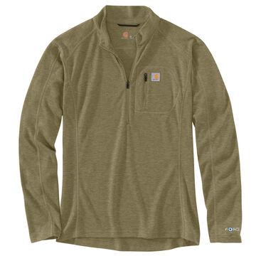 Carhartt Mens Base Force Heavyweight Poly-Wool Quarter-Zip Base Layer Top