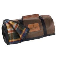 Pendleton Woolen Mills Roll-Up Wool Blanket