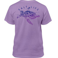 Salt Life Girl's Turtle Island Short-Sleeve T-Shirt