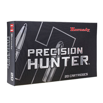 Hornady Precision Hunter 7mm Rem Mag 162 Grain ELD-X Rifle Ammo (20)