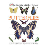 Butterflies Ultimate Sticker Book by DK Publishing