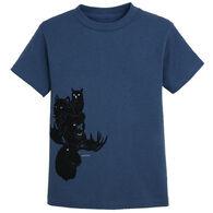 The Duck Company Youth Night Eyes Short-Sleeve T-Shirt