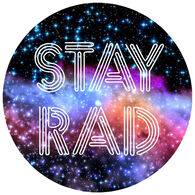 Sticker Cabana Stay Rad Sticker
