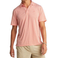 Southern Tide Men's Bimini Striped Brrr Performance Polo Short-Sleeve Shirt