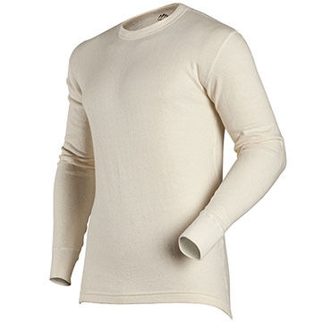 Coldpruf by Indera Mills Mens Authentic Wool Plus Crew-Neck Baselayer Top