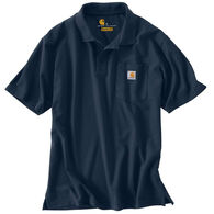 Carhartt Men's Contractor's Work Pocket Polo Short-Sleeve Shirt