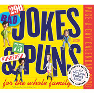 290 Bad Jokes & 75 Punderful Puns for the Whole Family 2020 Page-A-Day Calendar by Workman Publishing