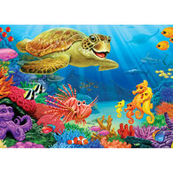 Outset Media Tray Puzzle - Undersea Turtle