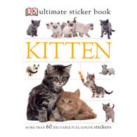 Kitten Ultimate Sticker Book by DK Publishing