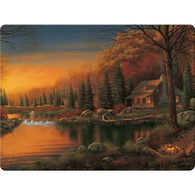 Rivers Edge Cabin Scene Cutting Board - Assorted
