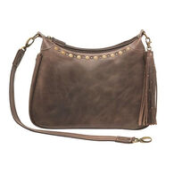 Gun Tote'n Mamas GTM–CZY/70 Distressed Leather RFID Hobo Concealed Carry Shoulder Bag