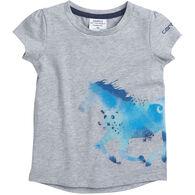 Carhartt Toddler Girl's Horse Wrap Short-Sleeve T-Shirt