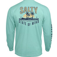 Salt Life Men's Chillax Salty State of Mind Pocket Long-Sleeve T-Shirt