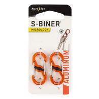 Nite Ize S-Biner Microlock Aluminum Carabiner - 2 Pk.