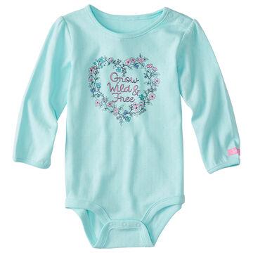 Carhartt Infant/Toddler Girls Grow Wild and Free Long-Sleeve Bodyshirt