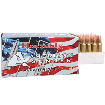 Hornady American Gunner 223 Remington 55 Grain HP Rifle Ammo (50)