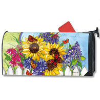 MailWraps Butterflies And Blossoms Mailbox Cover