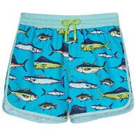 Hatley Toddler Boy's Cool Fish Swim Short