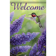 Carson Home Accents Glittertrends Vibrant Visitor Garden Flag