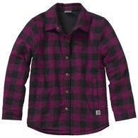 Carhartt Girl's Flannel Lined Long-Sleeve Shirt Jac