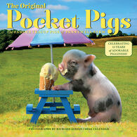 The Original Pocket Pigs 2022 Wall Calendar by Richard Austin