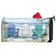 MailWraps Ocean View Magnetic Mailbox Cover