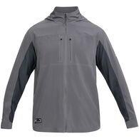 Under Armour Men's UA Backwater Hybrid Full-Zip Hooded Fishing Long-Sleeve Shirt