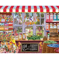White Mountain Jigsaw Puzzle - Sweet Shoppe