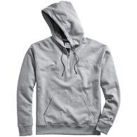 Champion Men's Powerblend Embroidered Logo Quarter-Zip Hoodie