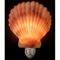 Ibis & Orchid Design Scallop Shell Nightlight