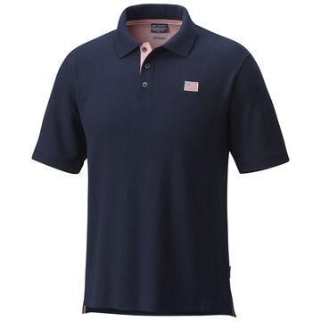 Columbia Mens Harborside Pique Polo Short-Sleeve Shirt