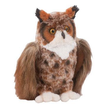 Douglas Company Plush Great Horned Owl - Einstein
