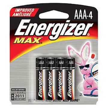 Energizer MAX AAA Battery - 4 or 8 Pk.