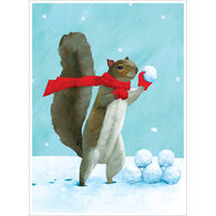 Allport Editions Snowball Fight Boxed Holiday Cards