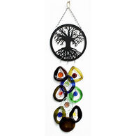 Bottle Benders Tree Of Life Metal Top Windchime