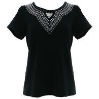 Aventura Women's Jess Short-Sleeve Top