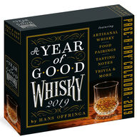 A Year of Good Whisky 2019 Page-A-Day Calendar by Hans Offringa